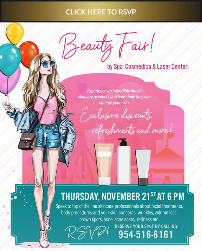 , RSVP for November 2019 Beauty Fair!